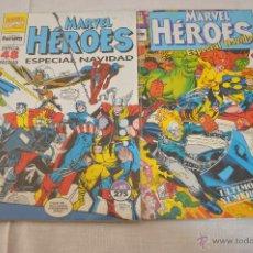 Cómics: MARVEL HEROES Nº 83-84 ESPECIAL NAVIDAD ULTIMOS NUMEROS. Lote 49344549