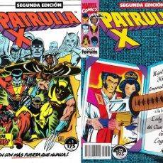 Cómics: PATRULLA X VOLUMEN 1 SEGUNDA EDICIÓN (LOTE 1 AL 25) COMICS FORUM. Lote 49399655
