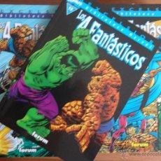 Cómics: BIBLIOTECA MARVEL LOS 4 FANTASTICOS DE FORUM COMPLETA 35 TOMITOS. Lote 79783455