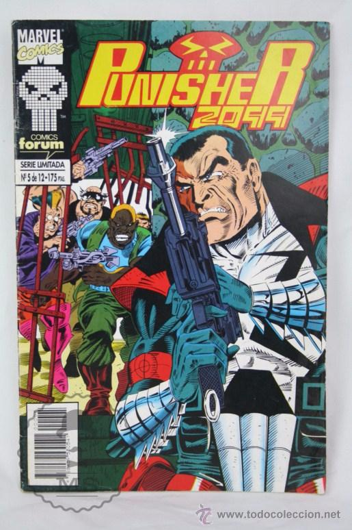 CÓMIC PUNISHER 2099 - Nº 5 - MARVEL COMICS / FORUM (Tebeos y Comics - Forum - Otros Forum)