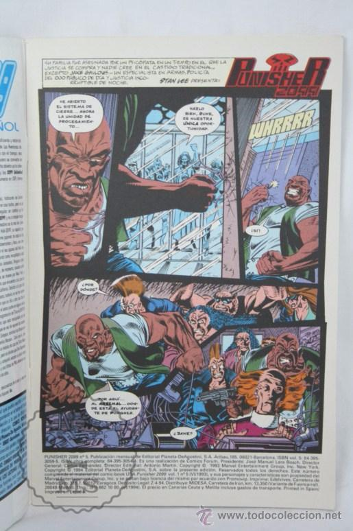 Cómics: Cómic Punisher 2099 - Nº 5 - Marvel Comics / Forum - Foto 2 - 49458271