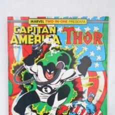 Cómics: CÓMIC CAPITÁN AMÉRICA / THOR - Nº 54 - MARVEL COMICS / FORUM. Lote 49459906