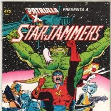Cómics: PRESTIGIO Nº 19 - LA PATRULLA X - STARJAMMERS - FORUM 1990. Lote 49469944