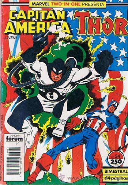 CÓMIC CAPITÁN AMÉRICA / THOR Nº 54 (Tebeos y Comics - Forum - Capitán América)