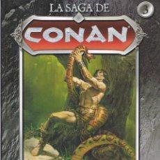 Cómics: LA SAGA DE CONAN TOMO 3. LA ESPADA DE SKELOS POR ROY THOMAS Y JOHN BUSCEMA. Lote 49484260