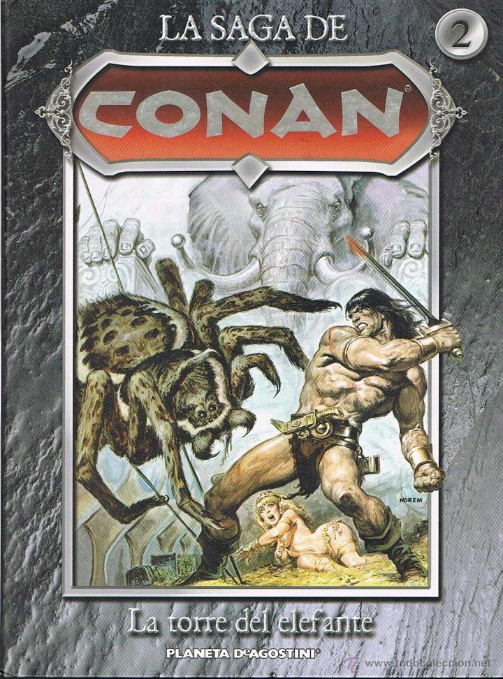 LA SAGA DE CONAN TOMO 2. LA TORRE DEL ELEFANTE POR ROY THOMAS Y JOHN BUSCEMA (Tebeos y Comics - Forum - Conan)