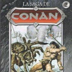 Cómics: LA SAGA DE CONAN TOMO 2. LA TORRE DEL ELEFANTE POR ROY THOMAS Y JOHN BUSCEMA. Lote 49484290