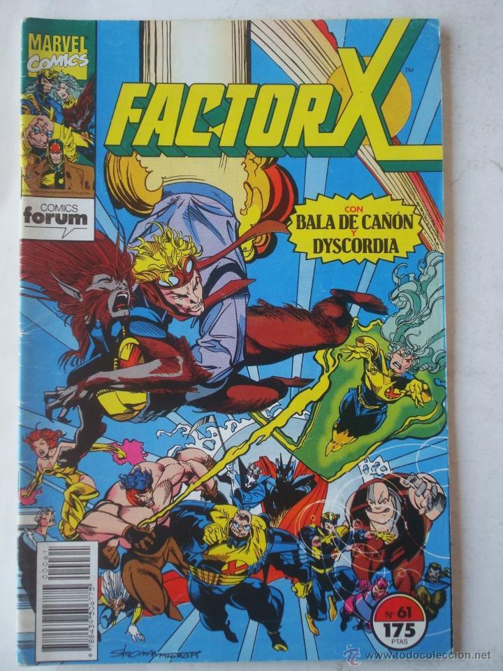 FACTOR-X VOL. 1 Nº 61 - FORUM (MARVEL) (Tebeos y Comics - Forum - Factor X)