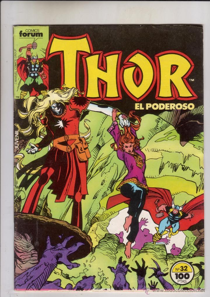 FORUM - THOR VOL.1 NUM. 32 .MBE (Tebeos y Comics - Forum - Thor)