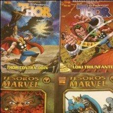 Cómics: LOTE THOR 2 TOMOS TESOROS MARVEL Y 2 TOMOS SELECCIONES MARVEL FORUM - 4 TOMOS. Lote 49595010