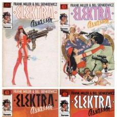 Cómics: ELEKTRA ASSASIN (COMPLETA 4 TOMOS) FRANK MILLER Y BILL SIENKIEWICZ. COLECCIÓN PRESTIGIO COMICS FORUM. Lote 49599784