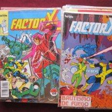Cómics: LOTE 35 COMICS FACTOR X VOL. 1 + 2 ESPECIALES. FORUM 1988 TEBENI MUY BUEN ESTADO. Lote 49684545
