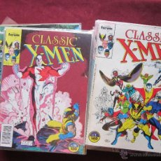 Cómics: LOTE 28 PRIMEROS NÚMEROS DE CLASSIC X-MEN. 1988 COMICS FORUM MUY BUEN ESTADO. Lote 49684799