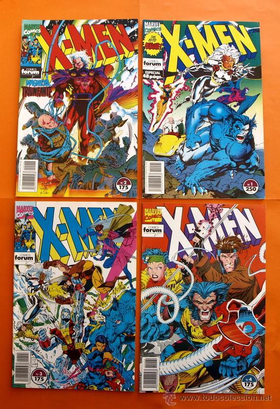 Cómics: Lote de 15 comics- Marvel Comics Forum - X-MEN- Números 1-2-3-4-5-6-7-8-9-10-11-12-13-14-15-Año 1992 - Foto 2 - 120262430