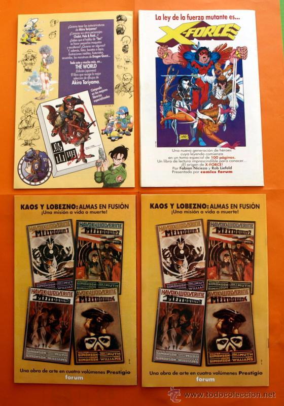 Cómics: Lote de 15 comics- Marvel Comics Forum - X-MEN- Números 1-2-3-4-5-6-7-8-9-10-11-12-13-14-15-Año 1992 - Foto 3 - 120262430