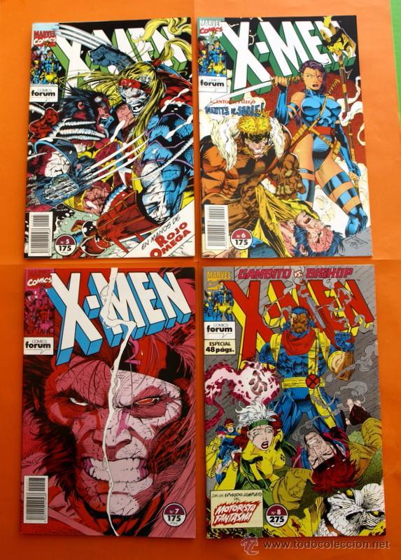 Cómics: Lote de 15 comics- Marvel Comics Forum - X-MEN- Números 1-2-3-4-5-6-7-8-9-10-11-12-13-14-15-Año 1992 - Foto 4 - 120262430