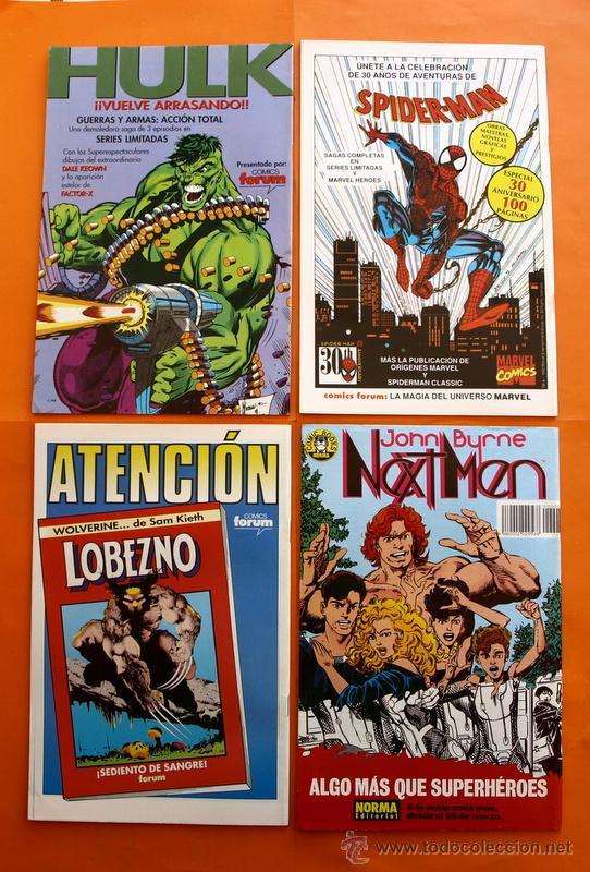 Cómics: Lote de 15 comics- Marvel Comics Forum - X-MEN- Números 1-2-3-4-5-6-7-8-9-10-11-12-13-14-15-Año 1992 - Foto 5 - 120262430