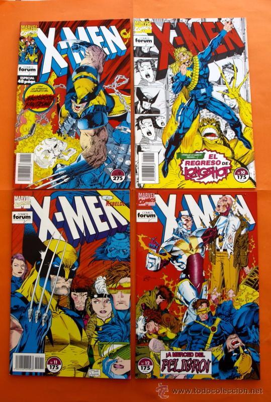 Cómics: Lote de 15 comics- Marvel Comics Forum - X-MEN- Números 1-2-3-4-5-6-7-8-9-10-11-12-13-14-15-Año 1992 - Foto 6 - 120262430