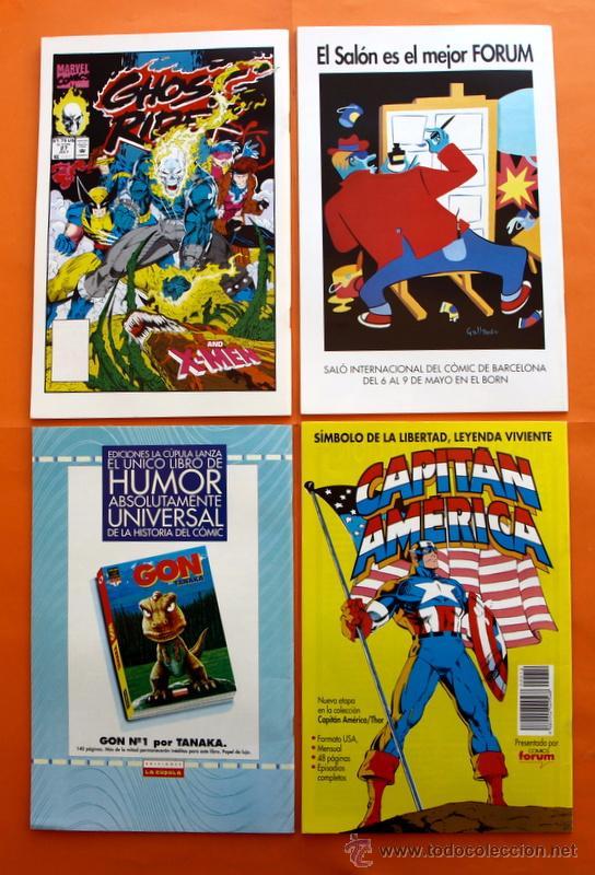 Cómics: Lote de 15 comics- Marvel Comics Forum - X-MEN- Números 1-2-3-4-5-6-7-8-9-10-11-12-13-14-15-Año 1992 - Foto 7 - 120262430