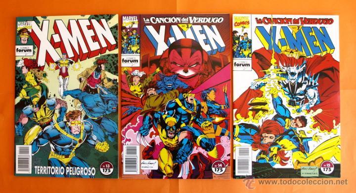 Cómics: Lote de 15 comics- Marvel Comics Forum - X-MEN- Números 1-2-3-4-5-6-7-8-9-10-11-12-13-14-15-Año 1992 - Foto 8 - 120262430