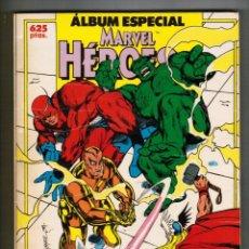 Fumetti: MARVEL HEROES - ÁLBUM ESPECIAL 3 NºS EXTRA - FORUM. Lote 49771088