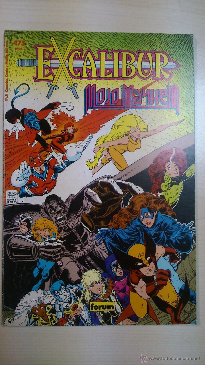 EXCALIBUR MOJO MAYHEM COLECCIÓN PRESTIGIO Nº 8 ED. FORUM (Tebeos y Comics - Forum - Prestiges y Tomos)