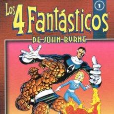 Cómics: JOHN BYRNE. LOS 4 FANTASTICOS COLECCIONABLE. COLECCION COMPLETA:25 TOMOS ( 100 NUMS APROXIMAD..). Lote 168580389