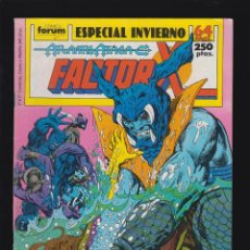 Cómics: FACTOR X ESPECIAL INVIERNO 1989 ( FORUM ). Lote 179529615