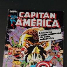 Cómics: CAPITAN AMERICA VOLUMEN 1 RETAPADO CON LOS NUMEROS 36 AL 40 FORUM. Lote 49916382