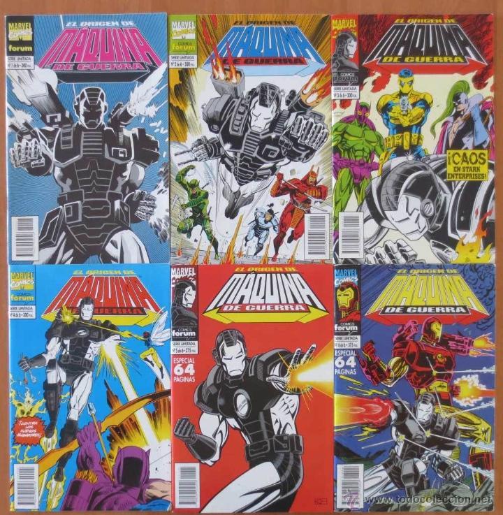 IRON MAN EL ORIGEN DE MAQUINA DE GUERRA 1 AL 6 COMPLETA (Tebeos y Comics - Forum - Iron Man)