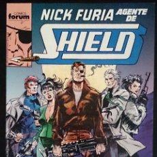 Cómics: NICK FURIA AGENTE DE SHIELD Nº 1 / MARVEL / FORUM 1990 (BOB HARRAS & BOB HALL). Lote 50065469