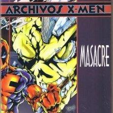 Cómics: ARCHIVOS X-MEN MASACRE. Lote 52855649