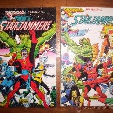 Comics : STARJAMMERS = SAQUEADORES ESTELARES : FALKON QUEST. [COLECCIÓN PRESTIGIO ; 17 Y 18] / CLAREMONT,.... Lote 50146436