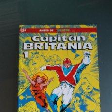 Cómics: CAPITAN BRITANIA 1 ANTES DE EXCALIBUR FORUM. Lote 50178189