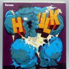 Cómics: HULK ZONA NUCLEAR TOMO MARVEL FORUM 1991. Lote 50218076