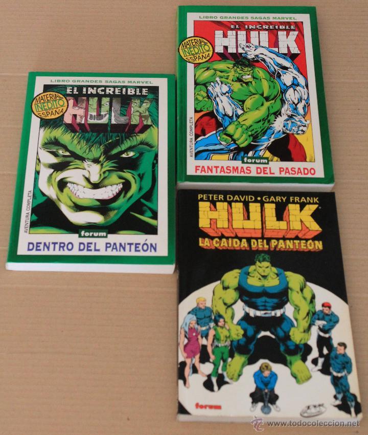 HULK ---GRANDES SAGAS MARVEL 2 FANTASMAS DEL PASADO 12 DENTRO DEL.. COMPLETA ---LA CAÍDA DEL PANTEÓN (Tebeos y Comics - Forum - Hulk)
