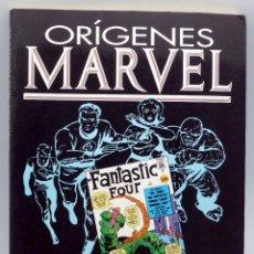 Cómics: ORÍGENES MARVEL 4 FANTÁSTICOS THE FANTASTIC FOUR Nº 1 AL 5 FORUM 1991. Lote 50233432