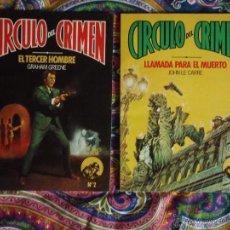 Cómics: CIRCULO DEL CRIMEN. Lote 50264400