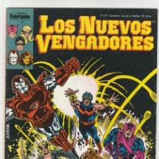 Cómics: LOS NUEVOS VENGADORES. FORUM. LOTE DE 53 EJEMPLARES ENTRE EL 1 Y 59. FALTAN: 12,19,20,21,22,23.. Lote 50336635