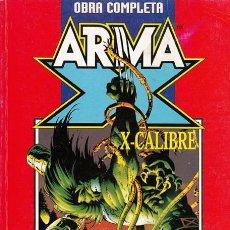 Cómics: ARMA-X VOL.2 Y X-CALIBRE VOL.1 TOMO OBRA COMPLETA. FORUM. X-MEN. PATRULLA X.. Lote 50382350