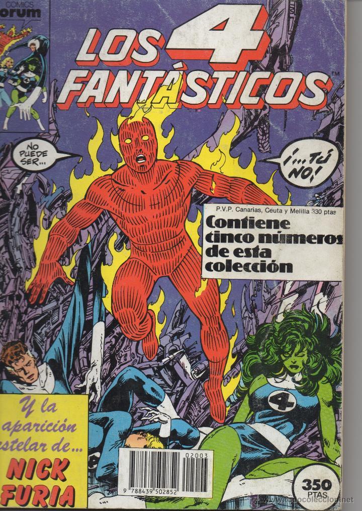 RETAPADO LOS CUATRO FANTASTICOS NUMEROS 61-65 (Tebeos y Comics - Forum - Retapados)