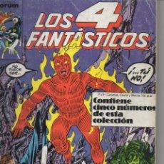 Cómics: RETAPADO LOS CUATRO FANTASTICOS NUMEROS 61-65. Lote 50398396