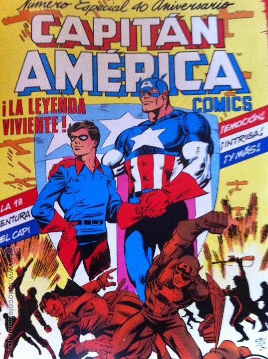 CAPITÁN AMÉRICA ESPECIAL 40 ANIVERSARIO Nº 15 (Tebeos y Comics - Forum - Capitán América)