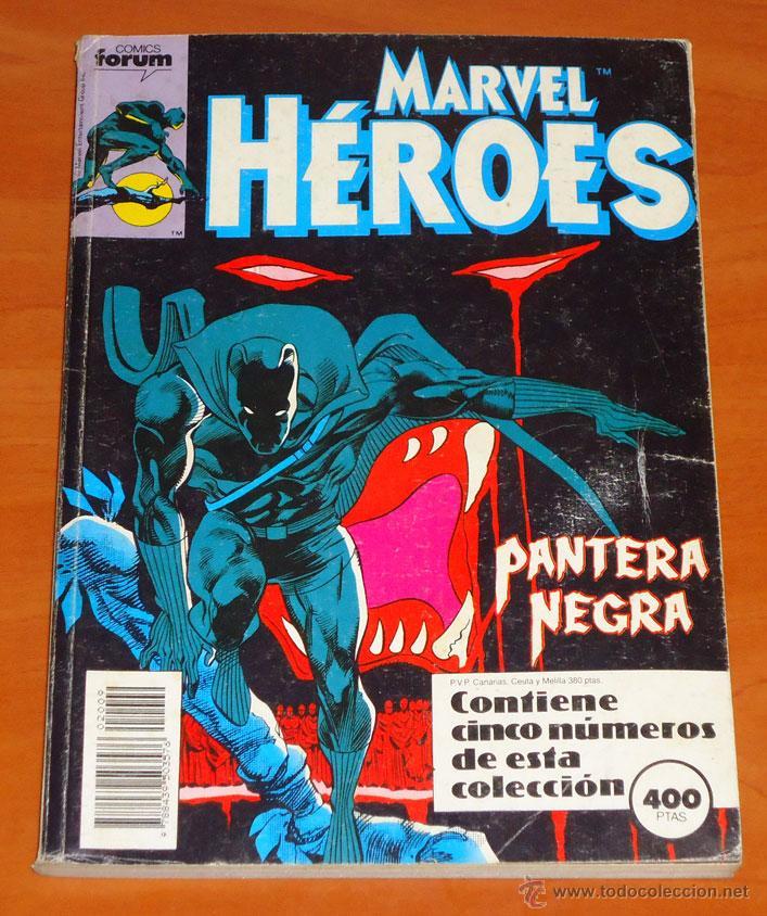 PANTERA NEGRA (45 Y 46) · LA VENGANZA DEL MONOLITO VIVIENTE (47, 48 Y 49) (Tebeos y Comics - Forum - Retapados)