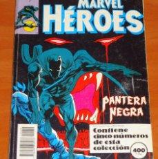 Cómics: PANTERA NEGRA (45 Y 46) · LA VENGANZA DEL MONOLITO VIVIENTE (47, 48 Y 49). Lote 50431162