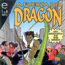 Cómics: LA FUERZA DEL DRAGÓN COLECCIÓN COMPLETA 4 Nº. Lote 50455896