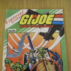Cómics: G.I. JOE HÉROES INTERNACIONALES ESPECIAL PRIMAVERA - FORUM - GI JOE. Lote 50509901