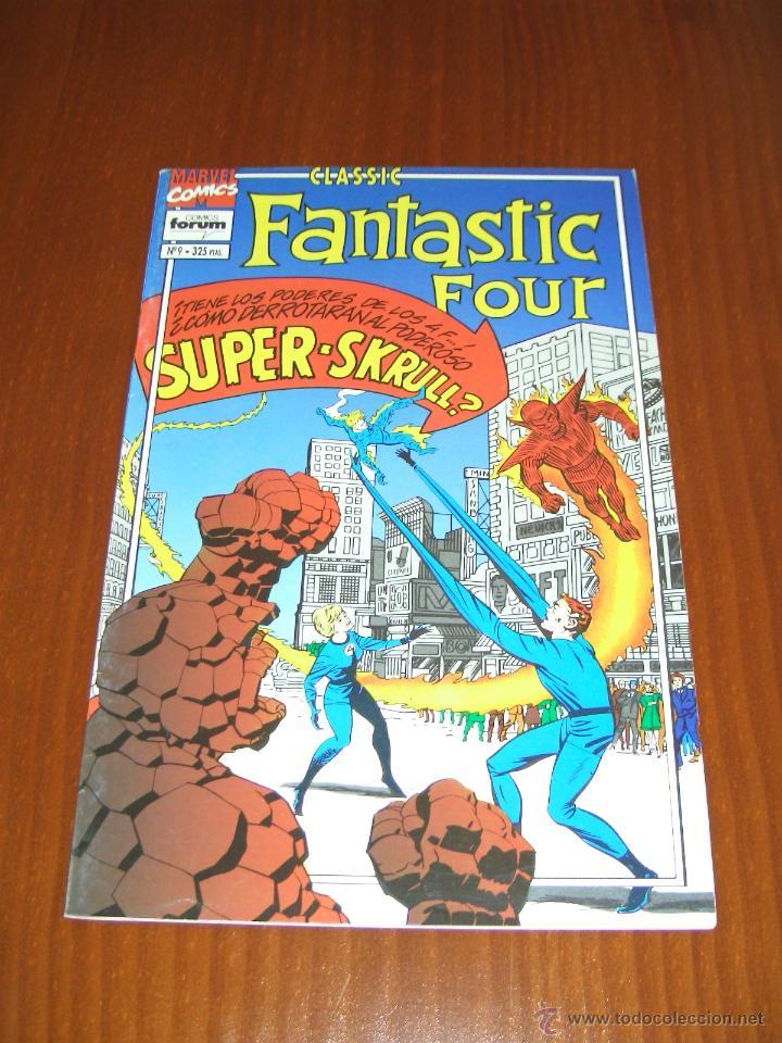 FANTASTIC FOUR CLASSIC Nº 9 - COMICS FORUM - STAN LEE - JACK KIRBY (Tebeos y Comics - Forum - 4 Fantásticos)