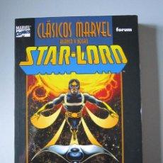Cómics: TOMO STARLORD CLÁSICOS MARVEL EN BLANCO Y NEGRO - FORUM. Lote 51723958