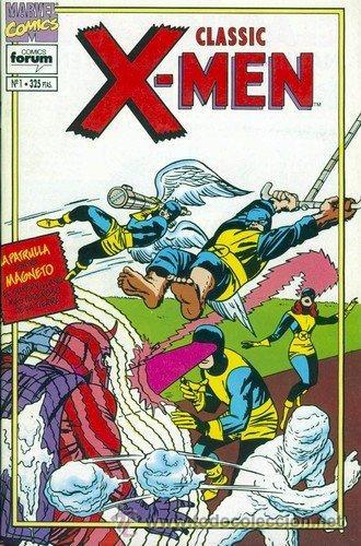 CLASSIC X-MEN. VOL. 2 LOTE DE 4 Nº 1-3-4-5 (Tebeos y Comics - Forum - X-Men)